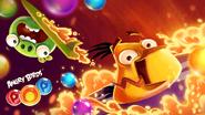 Angry Birds POP! - Poster Chuck Contra o Vulcão 02