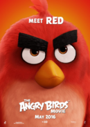 The Angry Birds Movie - Poster Meet Red