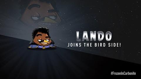 Angry Birds Star Wars Lando Calrissian