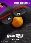 The Angry Birds Movie - Poster Meet Bomb