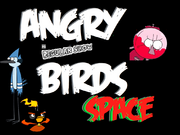 Angry Regular Show Birds Space-Angry Birds Space fanon Wiki