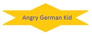 Angry German Kid Logo