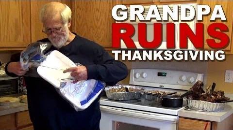 GRANDPA RUINS THANKSGIVING (2013 episode)