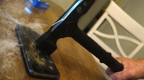 Angry Grandpa Destroys Samsung Galaxy S7 Edge!!