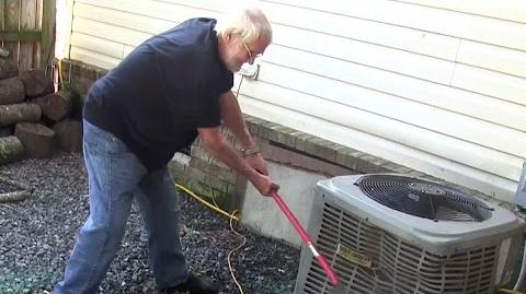 ANGRY GRANDPA AXES AIR CONDITIONER!!