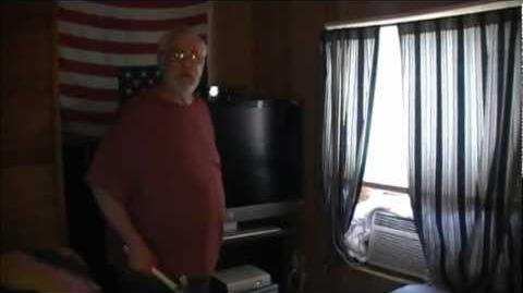Angry Grandpa Destroys HD TV!