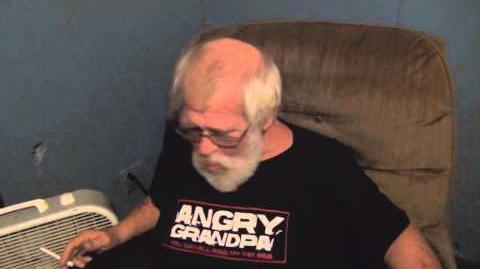 Angry Grandpa is Forever Alone
