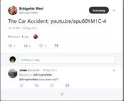 Car Accident Tweet