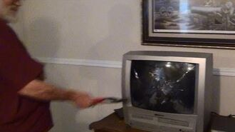 Angry Grandpa's TV Blowout