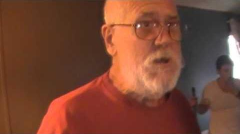 Angry Grandpa can't find his Pecan Pinwheels!