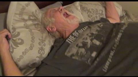 ANGRY GRANDPA'S NEW BED!