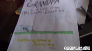 Angry Grandpa and the Case of the Missing Cookies (close up)
