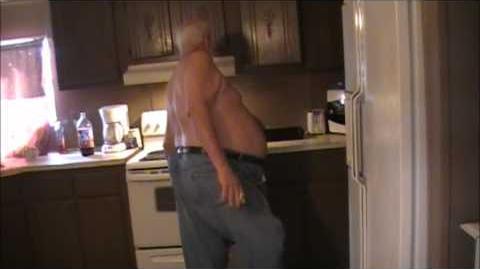 Angry Grandpa - Popcorn blowout aftermath
