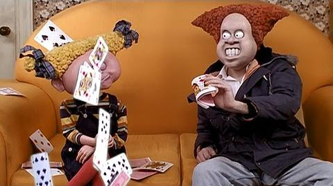 Card Trick - Angry Kid