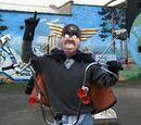 Captain Buggernuts, the Masked Bum Cake Avenger