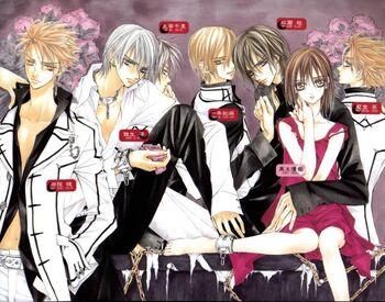 Vampire Knight Characters