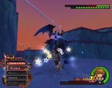 KH2 gameplay