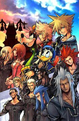 Kingdom Hearts II Characters