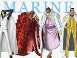 Almirantes da Marinha (One Piece)