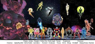 Heralds of Galactus (Earth-616) 001 Fan Art