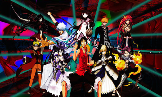 Anime crossover v2 by kaigasatoru-d6gg6p7