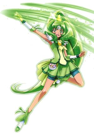 Smile Pretty Cure March Wn Pose