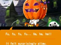 Stage 5 - Pumpkin King Encounter - Touch it