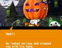 Stage 5 - Pumpkin King Encounter - Knock on it