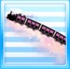 Intergalactic Train Purple