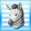 Anime face zebra