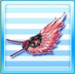 Wing eye patch - Red