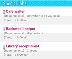 Special Jobs