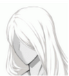 Extremely Long Hair White