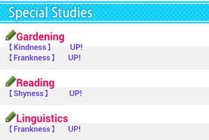 Special studies