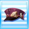 Galactic Railways Staff Hat Purple