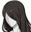 Extremely Long Hair Black