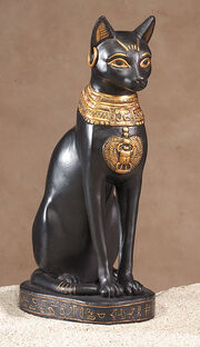 Ancient Cat staute