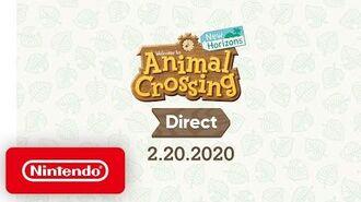 Animal Crossing- New Horizons Direct 2.20.2020