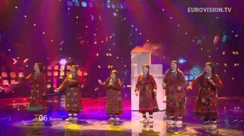 "Le groupe Grandmother's tentent le concours avec ""Party for everybody"" (Buranovskiye Babushki) dans The Voice"