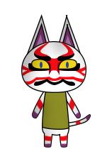 Animal Crossing VT Kabuki