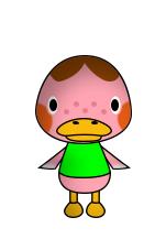 Animal Crossing VT Freckles