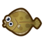 Olive Flounder HHD Icon