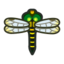 Banded Dragonfly HHD Icon