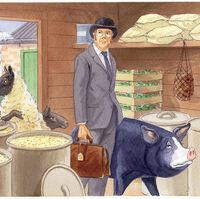 Mr Whymper Animal Farm Character Wiki Fandom