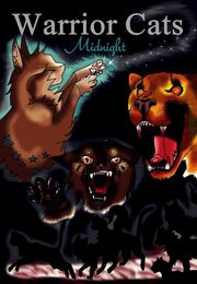 Warrior cats midnight new cover by yumyumkitty-d4wyra6