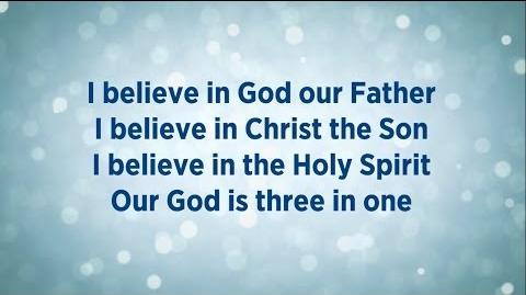 Video - This I Believe (The Creed) Lyrics - Hillsong Worship