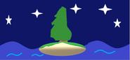 Unfinished Evergreen Tree Scene Thingy