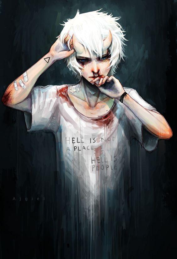 image 5ecbb5ec55114bad722aa93c81cc9fd6 demon boy anime dark anime