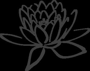 Image lotus flower black and white png lotus in dark gray clip art lotus flower black and white png lotus in dark gray clip art 297g mightylinksfo