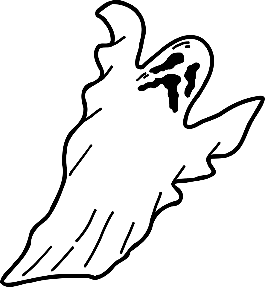 Image - Halloween-clip-art-scary-ghost.png   Animal Jam Clans Wiki ...